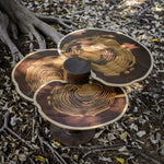 Turkey Tail Teak Centre Table