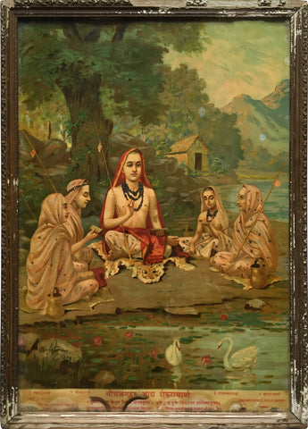 Shrimadguru Adi Shankaracharya,[product_collection],Indian Arts Palace (AB),Raja Ravi Varma - Artisera