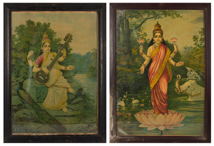Saraswati and Lakshmi (Pair) 03