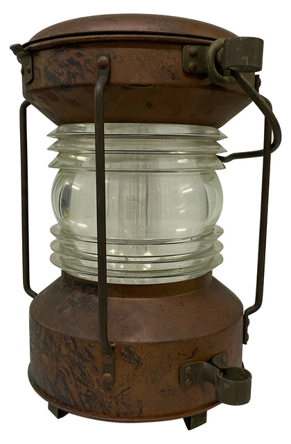 German Copper Ship Lantern