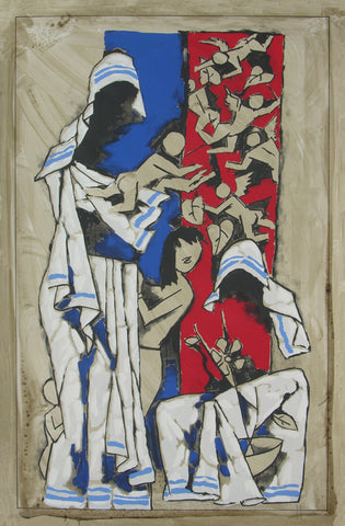 Mother,[product_collection],Archer Art Gallery,M.F. Husain - Artisera