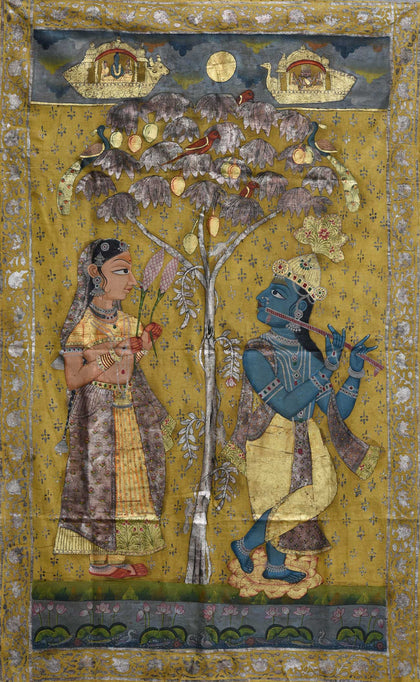 Radha Krishna Under Tree