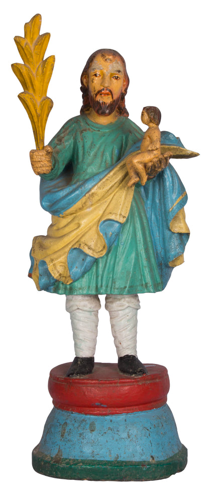 Saint Joseph Holding Infant Jesus