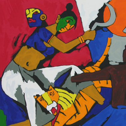 Kerala - II,[product_collection],Archer Art Gallery,M.F. Husain - Artisera