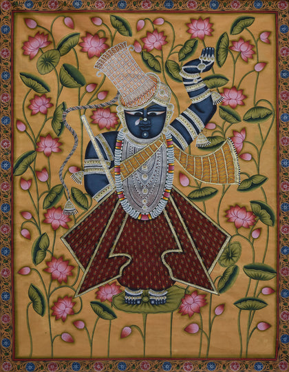 Shrinathji in Lotus Pond - II