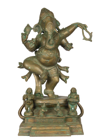 Dancing Ganesha with Musicians