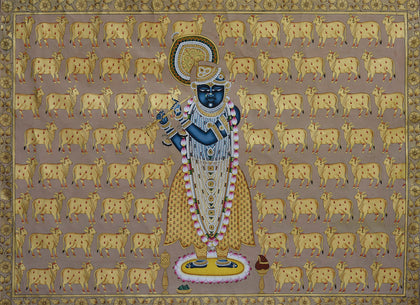 Shrinathji With Cows - III
