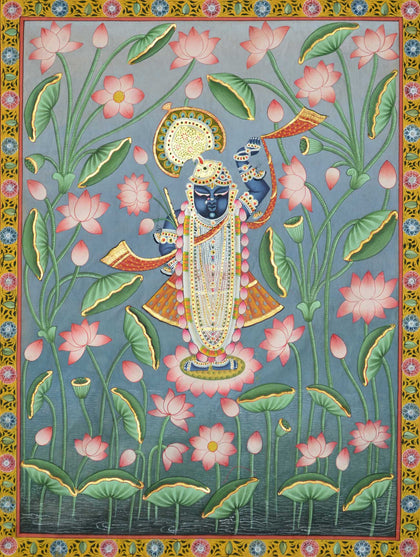 Shrinathji in Lotus Pond - IV