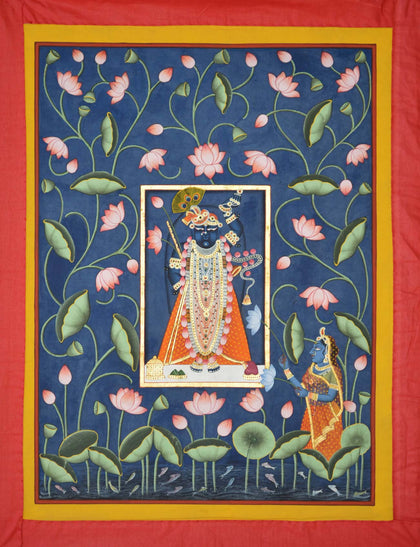 Shrinathji in Lotus Pond - V