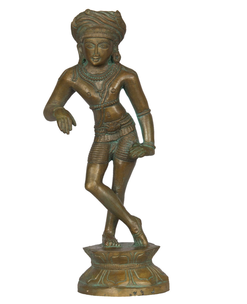 Shiva Wearing Turban (Chola Style) - I