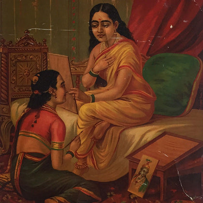 Chitra Lekha,[product_collection],Indian Arts Palace (AB),Raja Ravi Varma - Artisera
