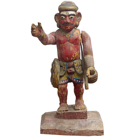 Painted Statue of Man,Crafters, - Artisera