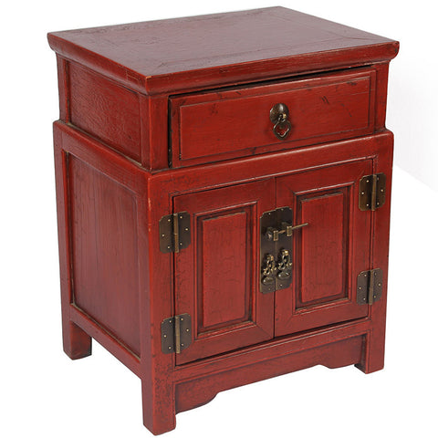 Oriental Bedside Cabinet,[product_collection],The Great Eastern Home, - Artisera