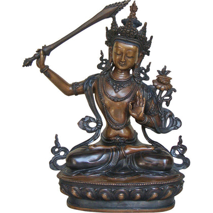 Manjushri Bodhisattva,[product_collection],La Boutique, - Artisera