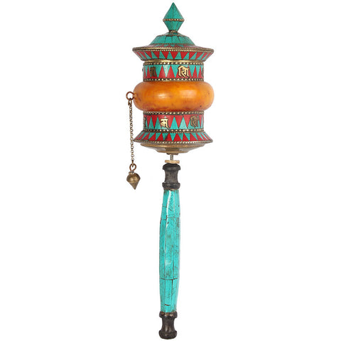 Prayer Wheel,[product_collection],Essajees, - Artisera