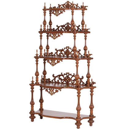 Burma Teak Stand or Rack Shelf,[product_collection],The Great Eastern Home, - Artisera