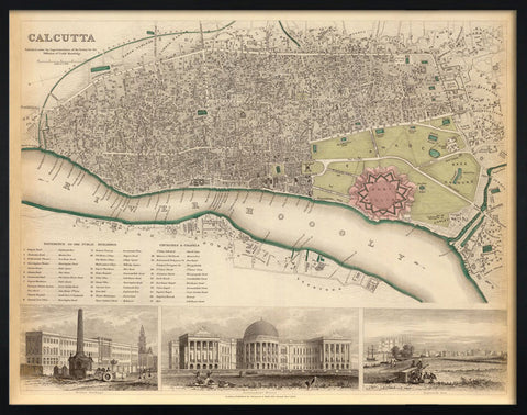 Calcutta, 1844,The Calcutta Restoration Co., - Artisera