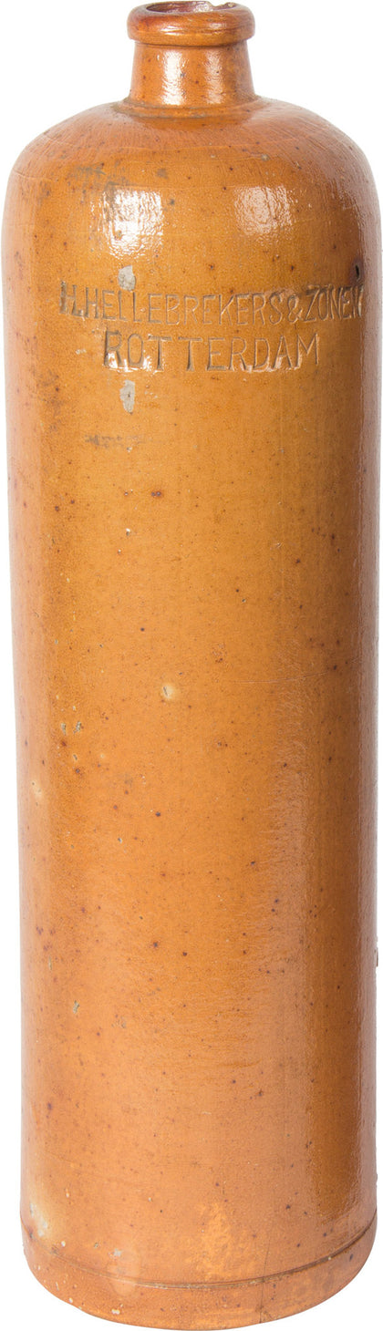 Stoneware Whiskey Bottle (Tan),[product_collection],Balaji's Antiques and Collectibles, - Artisera