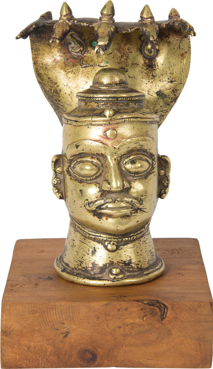 Mukha Linga 1,[product_collection],Balaji's Antiques and Collectibles, - Artisera