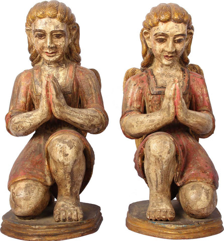 Goan Angels (Pair),[product_collection],Balaji's Antiques and Collectibles, - Artisera