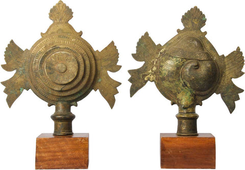 Shankh and Chakra,[product_collection],Balaji's Antiques and Collectibles, - Artisera