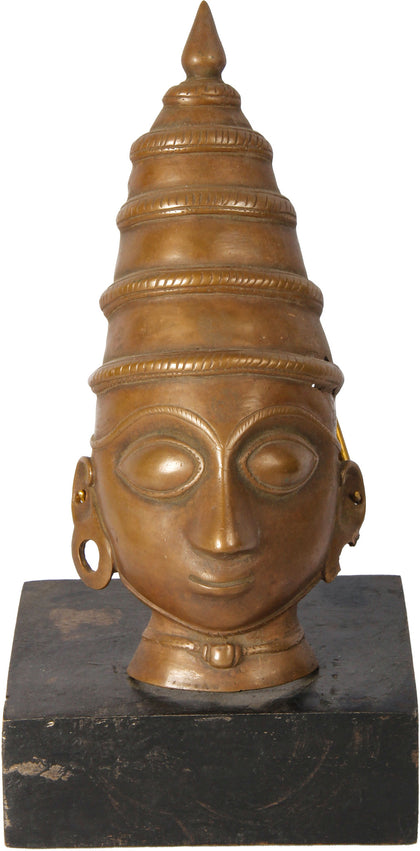 Mohra Mask of Devi,[product_collection],Balaji's Antiques and Collectibles, - Artisera
