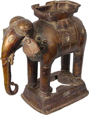 Repose Elephant Vahana,[product_collection],Balaji's Antiques and Collectibles, - Artisera