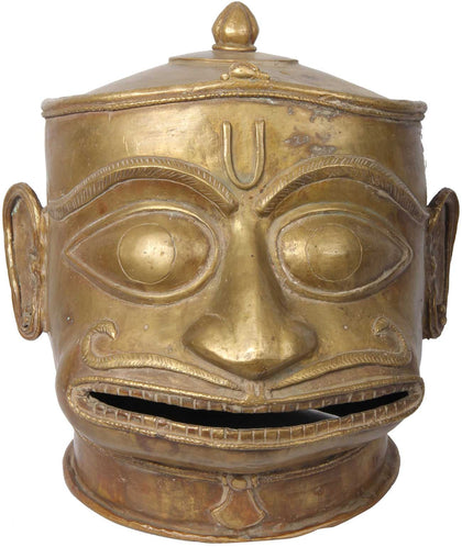 Hanuman Head,[product_collection],Balaji's Antiques and Collectibles, - Artisera