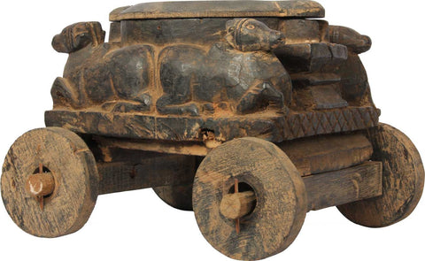Nandi Vibuthi Box,Balaji's Antiques and Collectibles, - Artisera