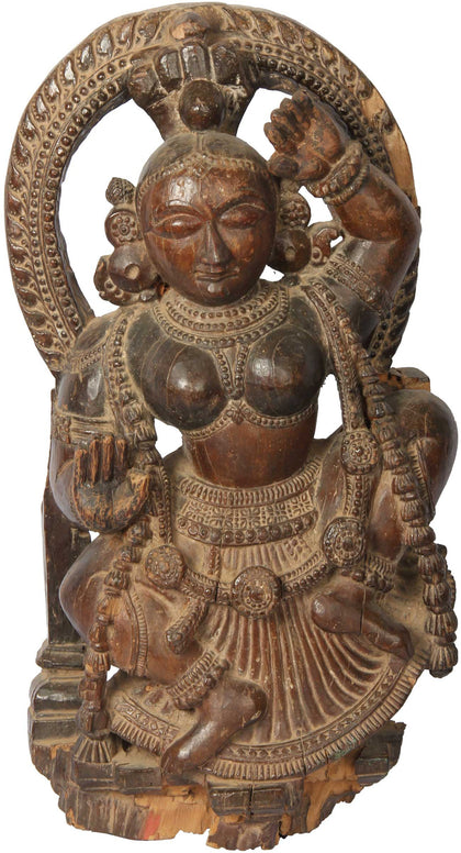 Wooden Dancer,[product_collection],Balaji's Antiques and Collectibles, - Artisera
