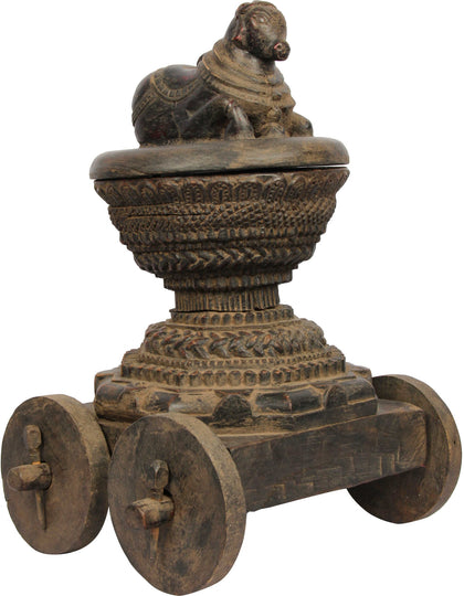 Nandi Vibuthi Box 2,[product_collection],Balaji's Antiques and Collectibles, - Artisera