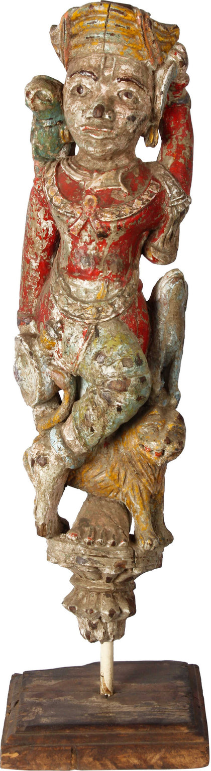 Guard Bracket Figure, Gujarat,[product_collection],Balaji's Antiques and Collectibles, - Artisera