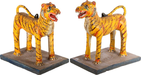 Company Influence Tigers (Pair),[product_collection],Essajees, - Artisera