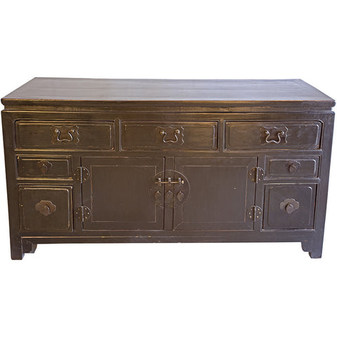 Wooden Black Lacquered Sideboard,[product_collection],Artisera, - Artisera