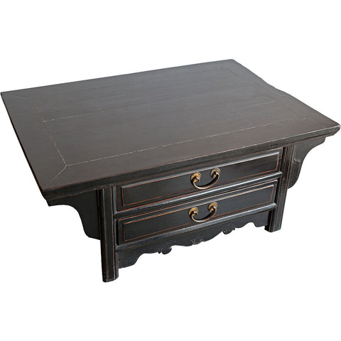 Wooden Black Lacquered Coffee Table,[product_collection],Artisera, - Artisera