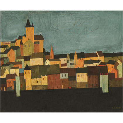 Carcassonne,[product_collection],Vadehra Art Gallery Bookstore,S.H. Raza - Artisera
