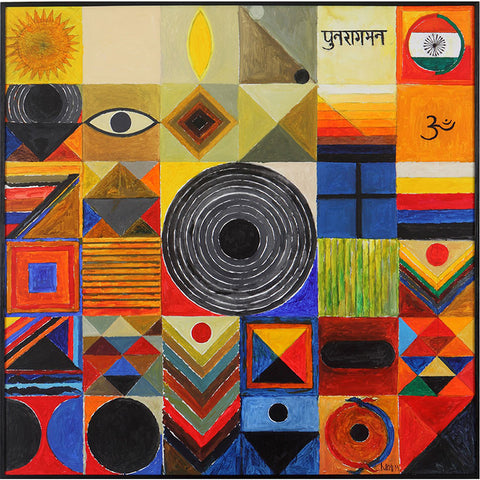 Punaraagman,[product_collection],Vadehra Art Gallery Bookstore,S.H. Raza - Artisera
