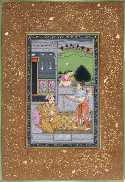 Nobleman On Terrace With A Dancer,[product_collection],La Boutique, - Artisera