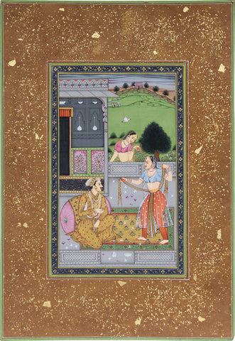 Nobleman On Terrace With A Dancer,La Boutique, - Artisera