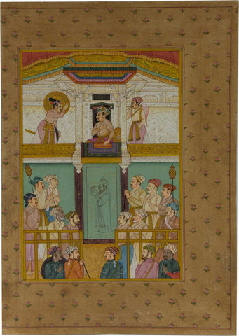Mughal Emperor in Court,[product_collection],La Boutique, - Artisera