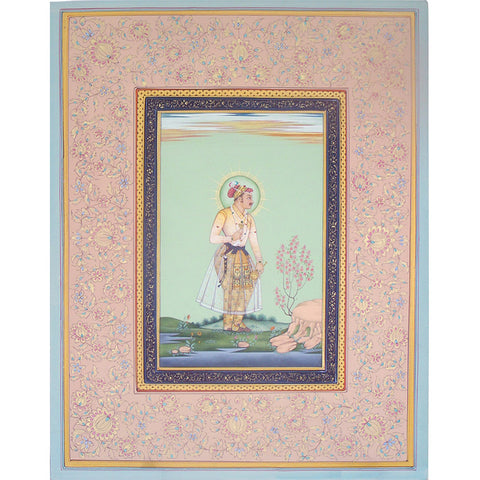 Mughal Emperor Standing - I,[product_collection],La Boutique, - Artisera