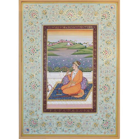 Royalty Seated on Terrace,[product_collection],La Boutique, - Artisera