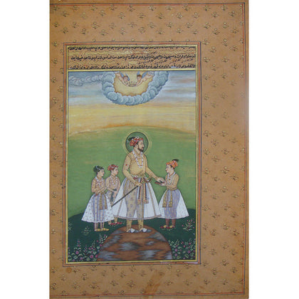 Emperor Shah Jahan With Princes,[product_collection],La Boutique, - Artisera