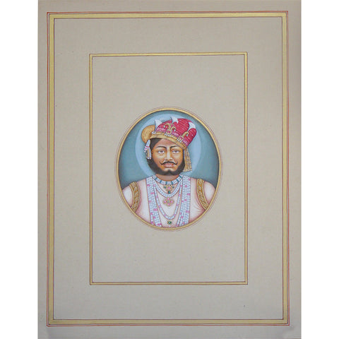 Portrait Study of State Ruler - I,[product_collection],La Boutique, - Artisera
