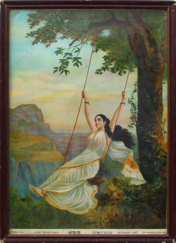 Mohini,[product_collection],Balaji's Antiques and Collectibles,Raja Ravi Varma - Artisera