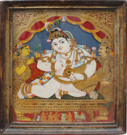 Krishna,[product_collection],Balaji's Antiques and Collectibles, - Artisera