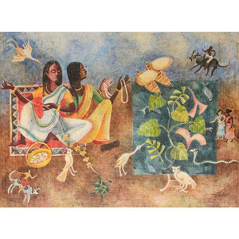 Rituals,[product_collection],Kynkyny Art,Arpita Basu - Artisera