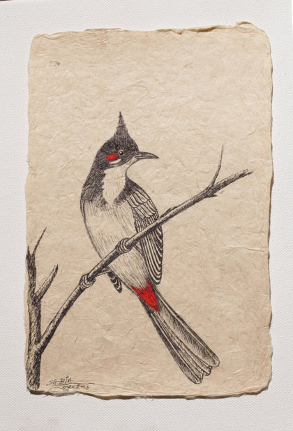 Bird Series - I,[product_collection],Vernssage,Sabia Khan - Artisera