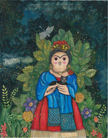 My Frida, Circa 1950,[product_collection],Artisera Paintings,Bakula Nayak - Artisera