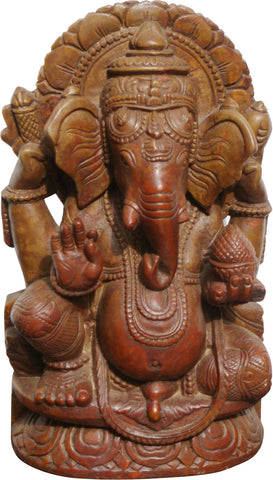 Ganesha in Stone - II,[product_collection],La Boutique, - Artisera